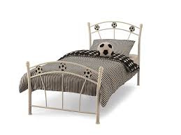 White Metal Bed Frame Single Single Bedframes 3ft 90cm With Free Delivery Anywhere In Ireland