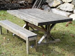 picnic table dining room sets picnic table style dining tables rustic room set bench plans diy