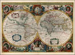 Nova Map Nova Totius Terrarum Orbis Geographica Ac Hydrographica Tabula