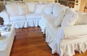 White Sectional Sofa With Chaise Furniture Minimize Amount Of Fabric You Need To Tuck With