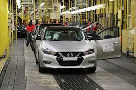 nissan maxima race car production begins on next gen 2016 nissan maxima u00274 door sports