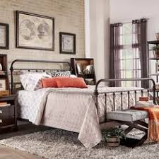 cabin decide love the quilts and old iron beds kids space