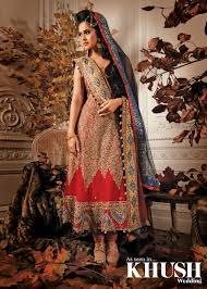 beautiful anarkali designed by maysa boutique perfect for a