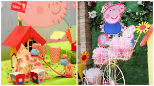 a peppa pig themed 2nd birthday designed by elusive dreams india