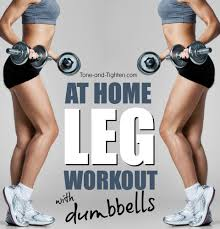 quick at home leg workout tone and tighten