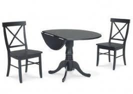 Drop Leaf Pedestal Table Dining Room Sets With Leaf Foter