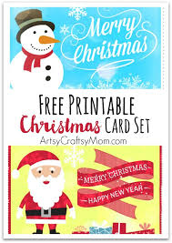 Design Your Own New Home Cards 2 Free Printable Christmas Cards Print At Home Artsy Craftsy Mom