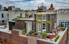 a penthouse with a rooftop cottage lists for 3 5m in manhattan
