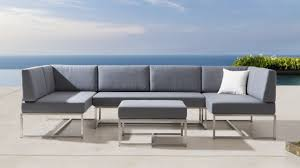 outdoor bahamas piece outdoor modular lounge with ottoman lounges