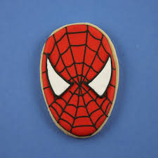 spiderman face embroidery design pattern instant itssewezee