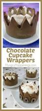 chocolate cupcake wrappers crowns for father u0027s day