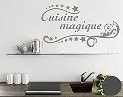 cuisine magique wall sticker cuisine magique grey 180cm x 99cm amazon co