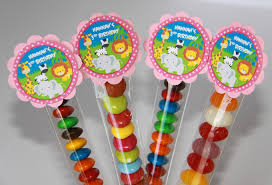 party favours 8 pack jungle animal lolly birthday party favours lt0015