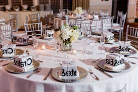 round wedding table decorations wedding corners