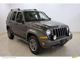 ford jeep 2005 2005 dark khaki pearl jeep liberty renegade 4x4 31426478