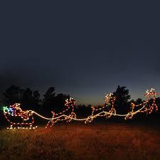 52 reindeer and sleigh outdoor decoration outdoor santa sleighs