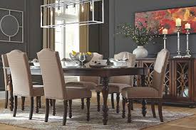 dinning room baxenburg dining room table ashley furniture homestore