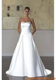robe de mariage simple robe de mariée blanche bustier satin simple