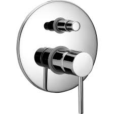 huber tv002100 exposed part for concealed s l bath shower valve