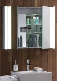 illuminated bathroom cabinet with shaver point ieriecom benevola
