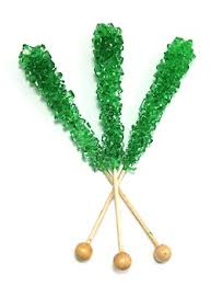 where to find rock candy unwrapped green rock candy sticks time candy nuts