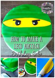 how to make a lego ninjago birthday cake kiki cuppycakes