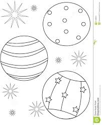 beach ball coloring page stock illustration image 51088691