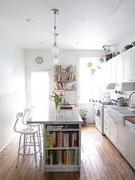 narrow kitchen best 25 narrow kitchen island ideas on pinterest small inside