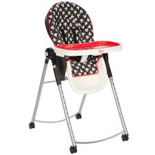 Portable Baby High Chair Disney Mickey High Chair