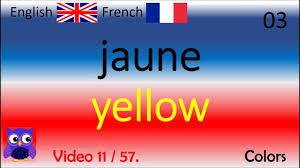 Couleurs En Anglais Francais 11 Colors Couleurs Mots Anglais Français