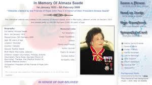 memorial tributes sle online memorials sle tribute web catholic memorials