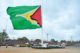 Guyana Flag 51st Independence Flag Raising To Be Held At Stabroek Square