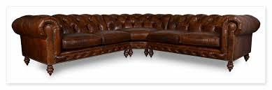 Chesterfield Sectional Sofa Cococo Custom Chesterfield Leather Tufted Sofas Made In Usa