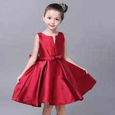 2018 2016 Real Regular Christmas Dress Korean Girls Wine Collar V