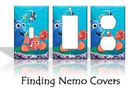 Home Decor Outlet Finding Nemo Light Switch Covers Disney Home Decor Outlet Ebay
