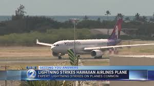 Hawaii how fast does lightning travel images Flight delayed after hawaiian airlines plane struck by lightning jpg