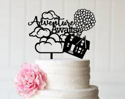 up cake topper up cake topper etsy