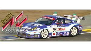 porsche 996 rsr porsche 996 rsr assetto corsa mod youtube