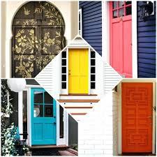 colors for front door paint orange brick house mats doors front
