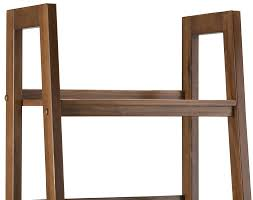 Narrow Leaning Bookcase by Simpli Home Sawhorse 72
