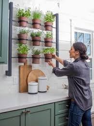 hanging shelves herb garden gardening pinterest hanging