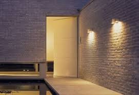 lighting design ideas outdoor exterior wall lighting commercial