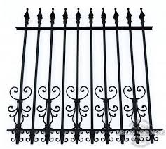 wrought iron and aluminum fences for small dogs iron fence shop blog