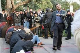 Leonardo Dicaprio Walking Meme - uc davis cop pepper sprays famous works of art today com
