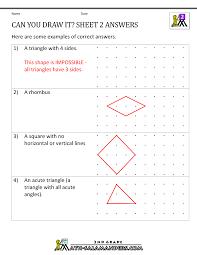 Transformations Geometry Worksheet Math Transformation Worksheetsworksheets For Second Grade Math