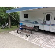 Rug Outdoor by Rv Camping Outdoor Rugs Roselawnlutheran