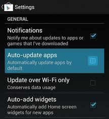 android disable auto update how to enable and disable automatic app updates on android
