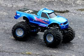 remote control monster truck grave digger lightning bigfoot blank u2013 sport mod trigger king rc u2013 radio