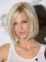 extended neckline haircut short bob hairstyles for round faces extended to face to make