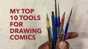 gerimi drawing comics 073 my top 10 tools for drawing comics